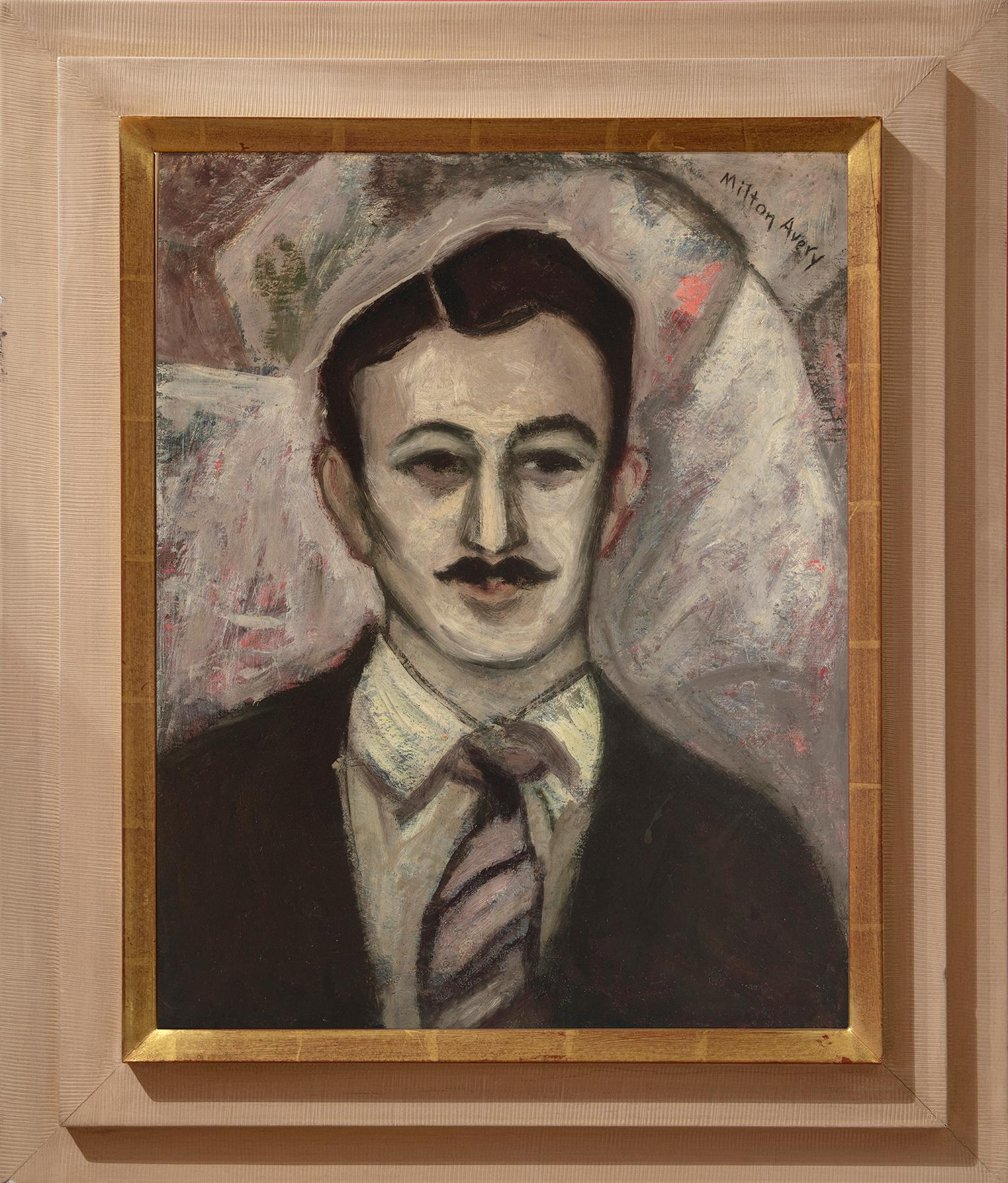 """""""Portrait of Gershon Benjamin"""""""