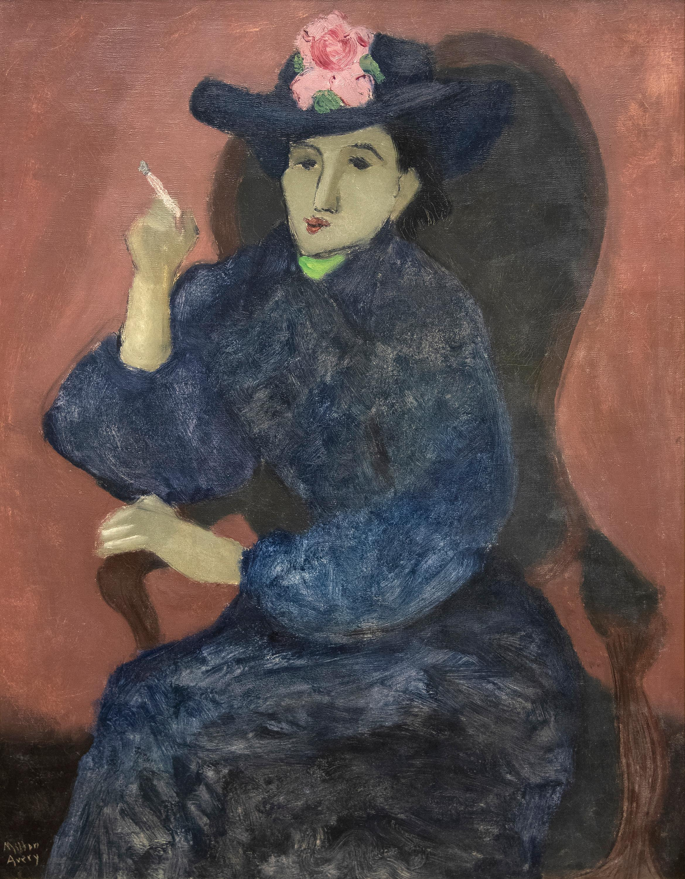 (Untitled) Woman in Blue