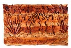 51'' El baile de las cintas / Woodcarving Sculpture Mexican Folk Art