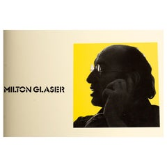 Milton Glaser Graphic Design by Milton Glaser, Signed First Edition