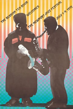 Milton Glaser The Newport Jazz Festival