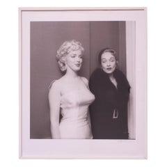 "Milton H. Greene ""Marilyn Monroe and Marlene Dietrich"" Signed Print"