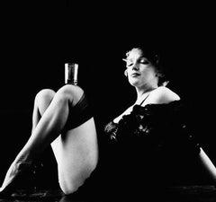 Marilyn Monroe, The Black Sitting, February 1956 (HOLLYWOOD, B&W PHOTOGRAPHY)