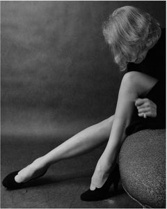 Marlene Dietrich - German-American film star and icon and her famous legs