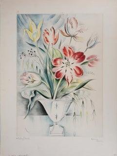 Tulips (Cleveland) - Original Handsigned Etching