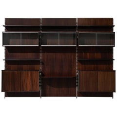 MIM Roma Wall Unit in Rosewood, 1960s