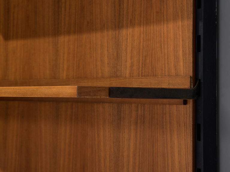 Mid-20th Century MIM Roma Wall Unit in Teak, 1960s For Sale