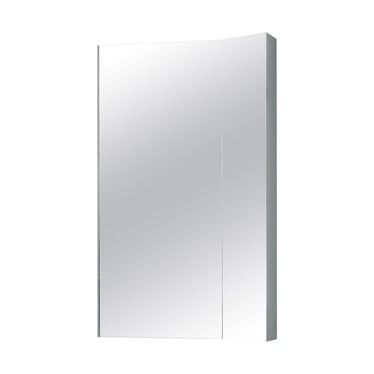 For Sale: Multi (Ash Grey) Mimesis Planar Floor or Wall Mirror in Powder Coated Steel