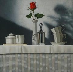 Foggy Morning  / oil on canvas