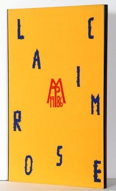 Lacrimose Portfolio of Woodcuts by Mimmo Paladino