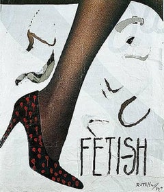 Fetish, Lithograph, Pop Art, Contemporary Art, Late 20th Century