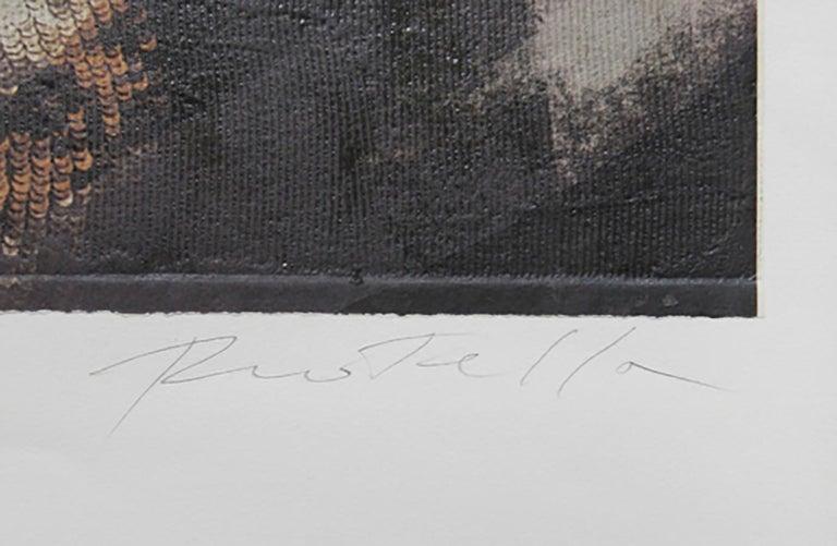 Vanity Fair, Penelope Cruz, Pop Art Serigraph by Mimmo Rotella For Sale 2