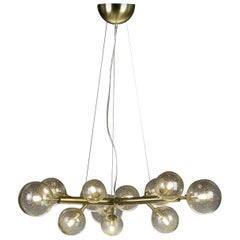 Mimosa 12 Light Brass Chandelier