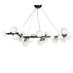 Mimosa 27-Light Black Chandelier