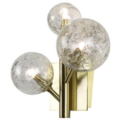 Mimosa 3 Light Brass Wall Lamp