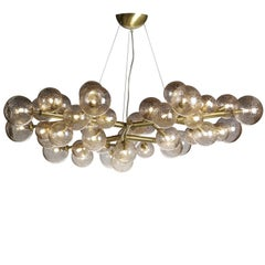 Mimosa 42-Light Brass Finish Chandelier
