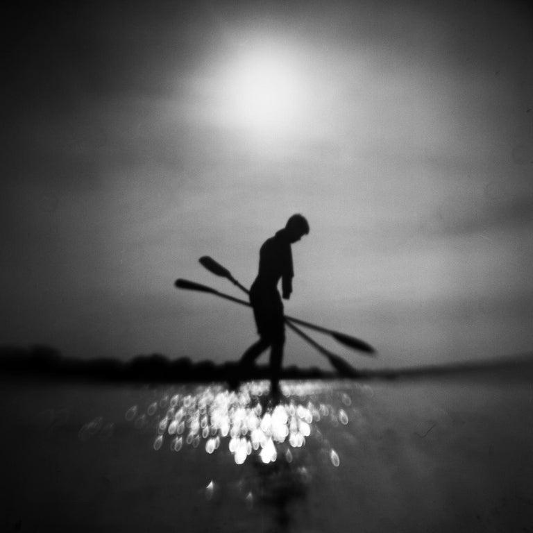 Mindaugas Gabrenas Black and White Photograph - Soul Underground