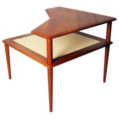 Minerva Teak Side Table by Hvidt & Mølgaard for France & Son, 1960s