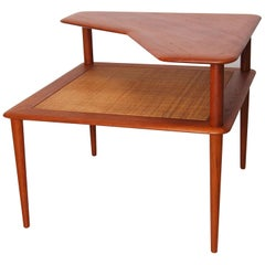 Minerva Teak Side Table by Hvidt & Mølgaard for France & Son, 1960s