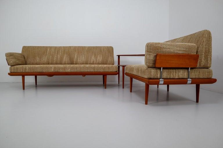 Minerva Teak Sofa Set Peter Hvidt And Orla Molgaard By Nielsen