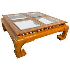 Ming Asian Chinoiserie Coffee Table