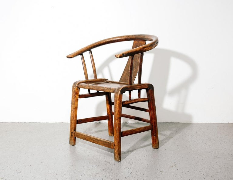 Ming Horseshoe Chair In Good Condition For Sale In Brooklyn, NY