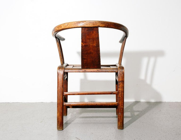 Ming Horseshoe Chair For Sale 1