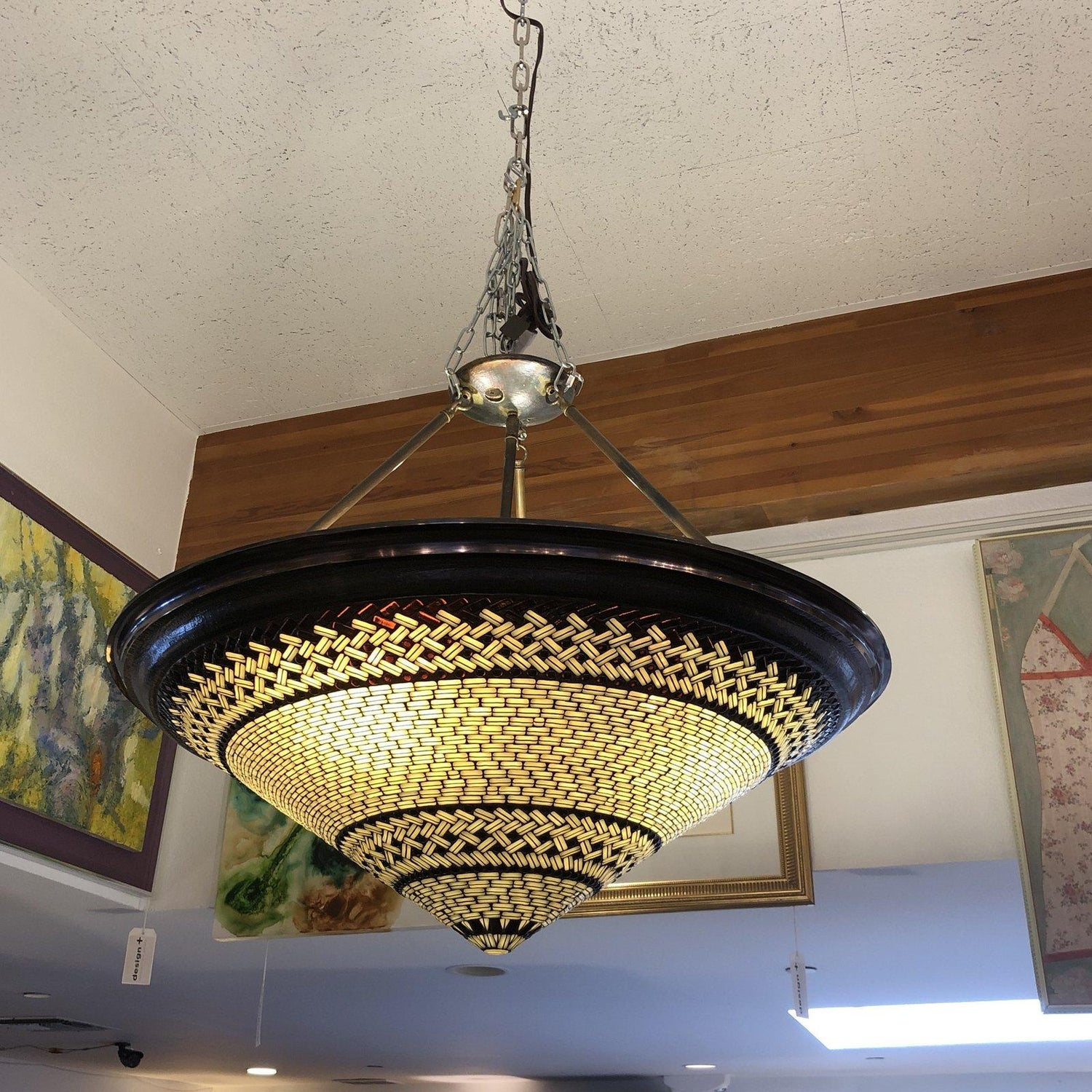 Ming Pendant By Hilliard Lighting