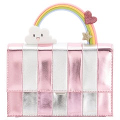 Ming Ray Pink Silver Shoulder Bag / Clutch