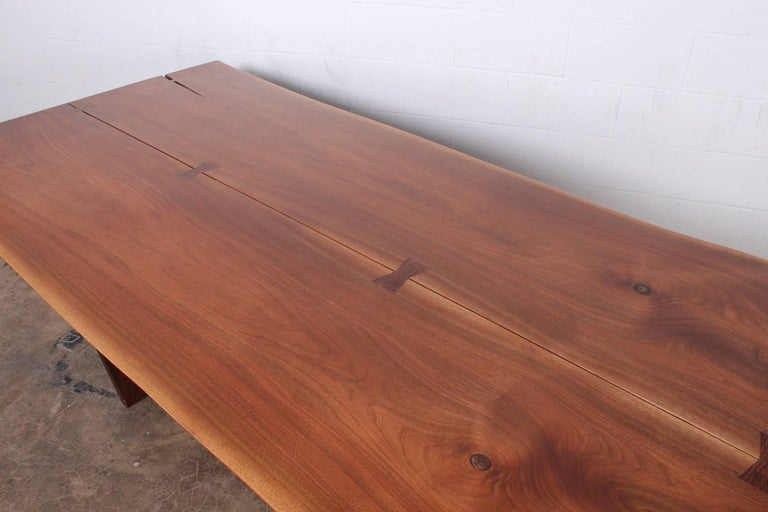Minguren II Dining Table by Mira Nakashima For Sale 8