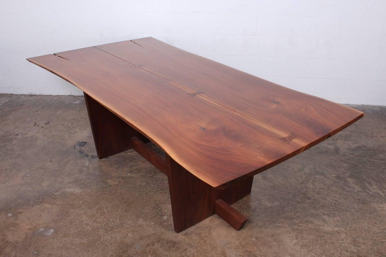 Minguren II Dining Table by Mira Nakashima For Sale 9
