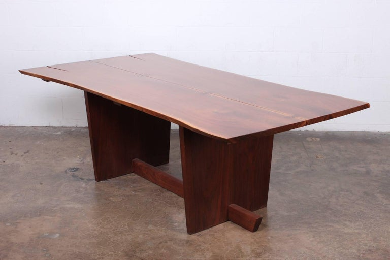 Minguren II Dining Table by Mira Nakashima For Sale 12