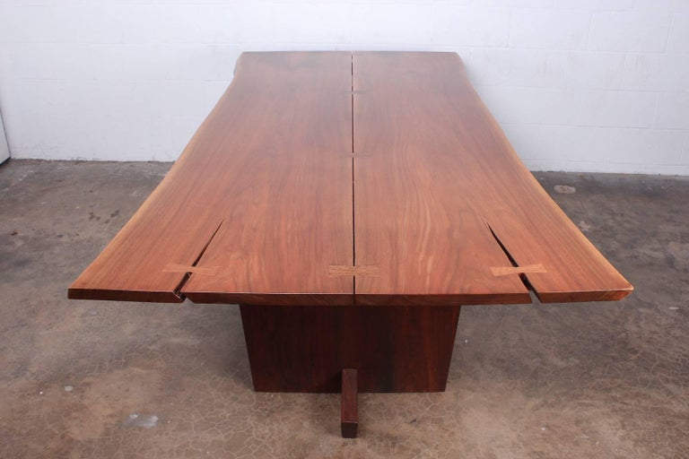 Minguren II Dining Table by Mira Nakashima For Sale 14