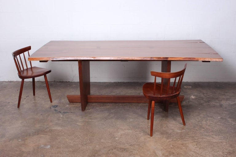 Minguren II Dining Table by Mira Nakashima For Sale 15