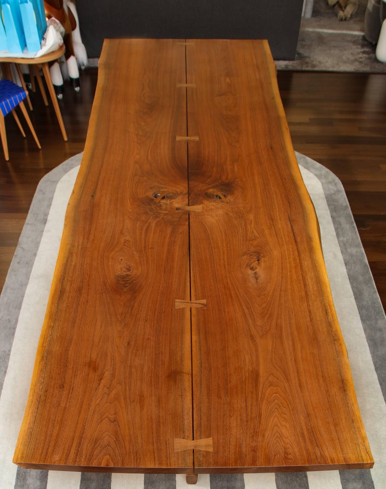 Minguren II dining table by Mira Nakashima, 