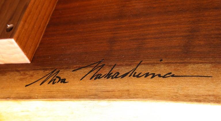 American Minguren II Dining Table by Mira Nakashima For Sale