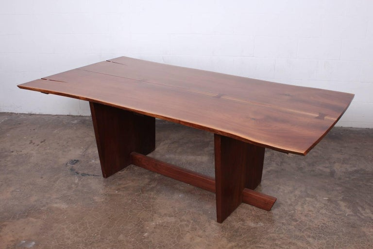 Contemporary Minguren II Dining Table by Mira Nakashima For Sale