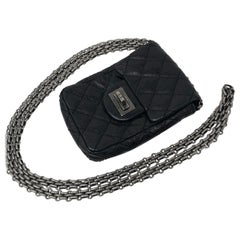 Mini Black Chanel Camera Crossbody Bag