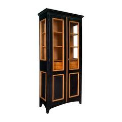 Mini Black Display Cabinet by Erika Gambella