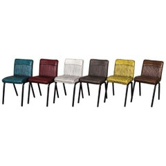 Mini Goodwood Industrial Style Dining Chair Range, 20th Century