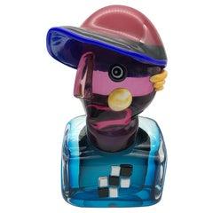 Mini Hat Sculpture by Alfredo Sosabravo and Toso Cristiano