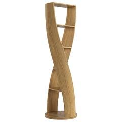MYDNA Bookcase Mini — Teak Wood Finish