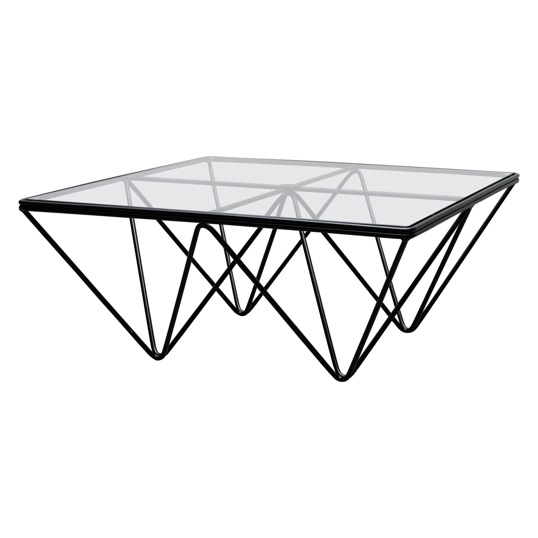 """Mini Paolo Piva Style """"Alanda"""" Pyramid Coffee Table"""