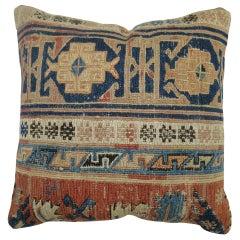 Mini Square Tribal Rug Size Pillow