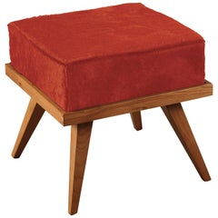 Mini Hocker Rot