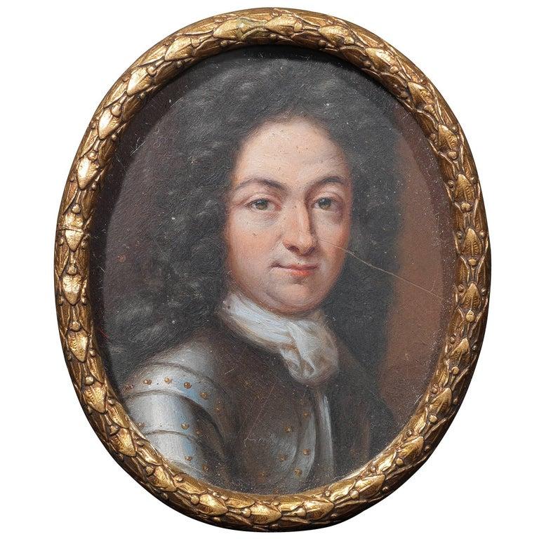 Miniature a Gentleman, South German, circa 1680