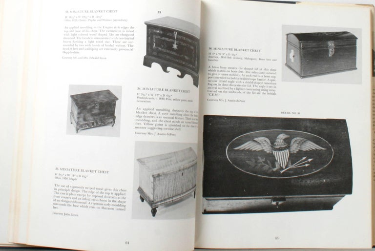 American Miniature Antique Furniture, First Edition For Sale