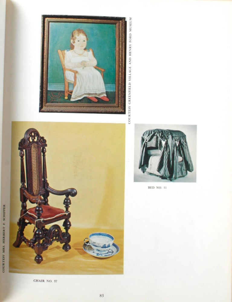 Miniature Antique Furniture, First Edition In Good Condition For Sale In valatie, NY