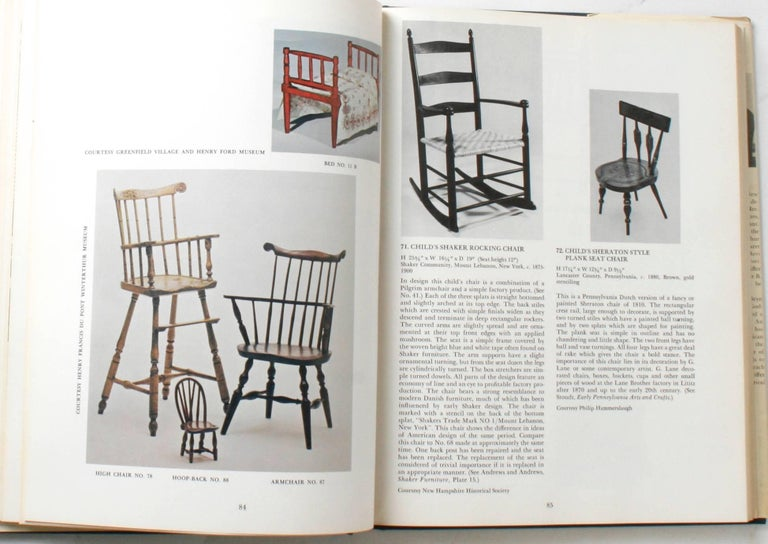 20th Century Miniature Antique Furniture, First Edition For Sale