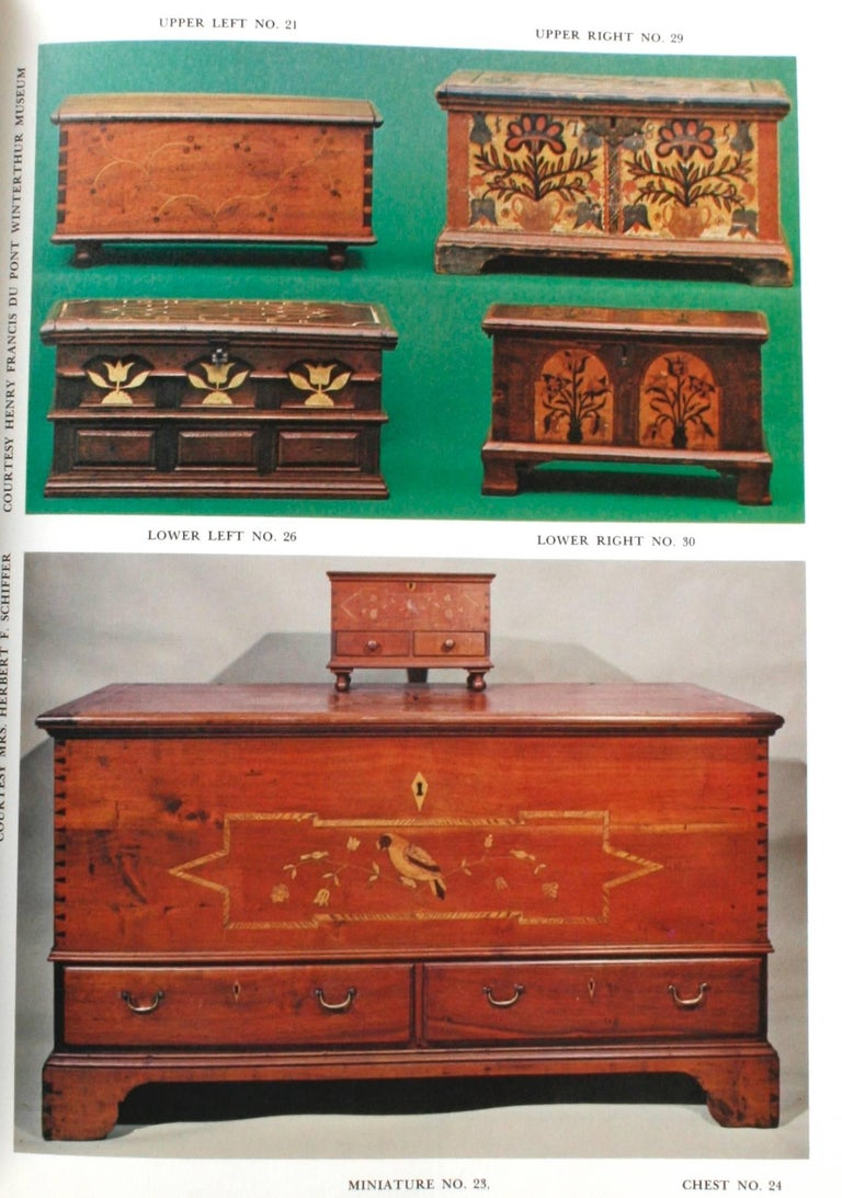 Paper Miniature Antique Furniture, First Edition For Sale
